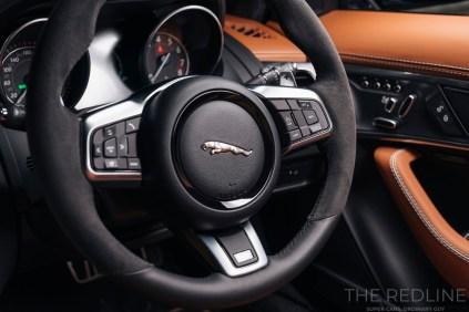 F-Type SVR Coupe interior