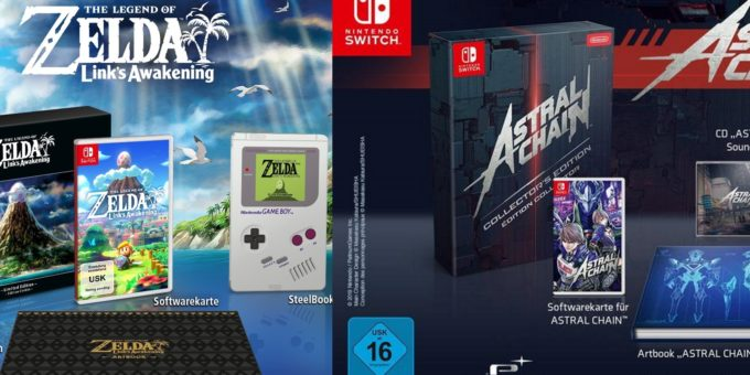 Astral Chain Collectors Edition Und The Legend Of Zelda Links Awakening Limited Edition Jetzt