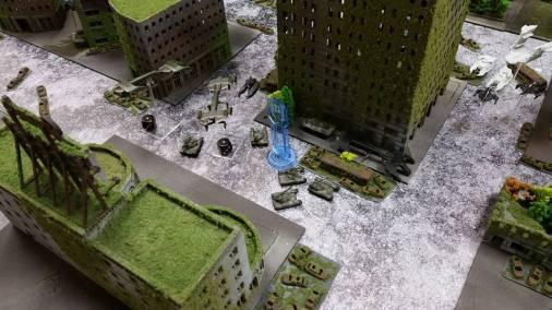 The UCM battle line.