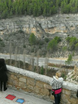 Rocks and cliffs all around