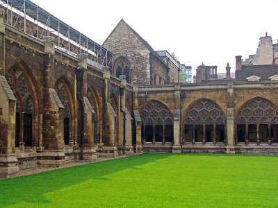 Cloister of Westminster Abbey
