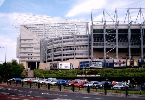 St Jame's Park stadium Newcastle United