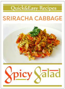 Spicy Sriracha Cabbage Salad