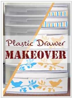 Plastic-Drawer-Makeover