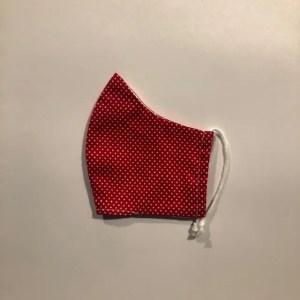 Mondkapje #Stippen rood