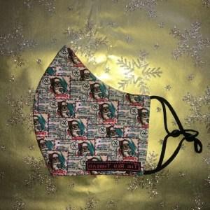 Mondkapje #Kerst Man Klein