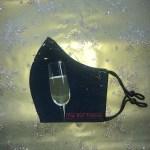 Mondkapje Champagne Groot