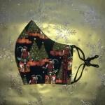 Mondkapje Kerst Elf Klein