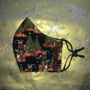 Mondkapje #Kerst Elf Klein