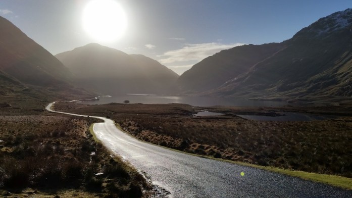 Winter Sun at Doolough