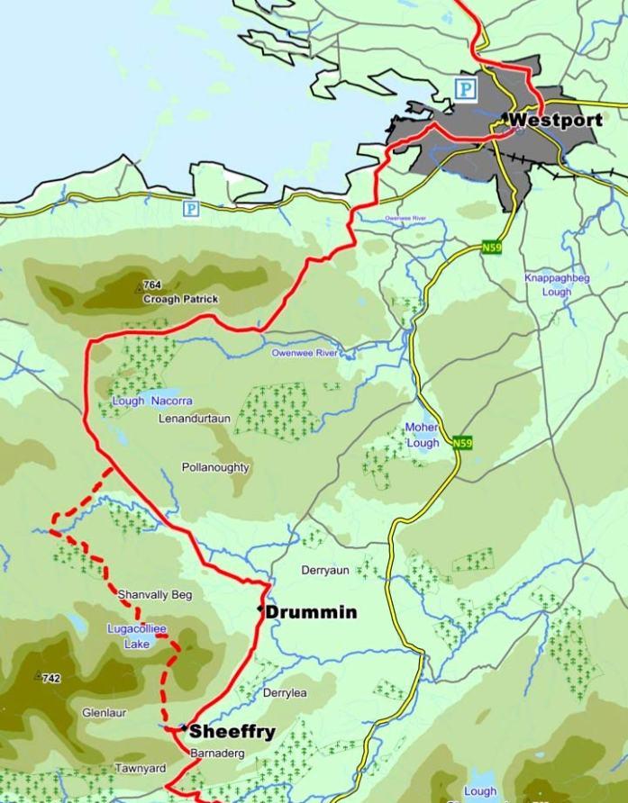 Western Way Map