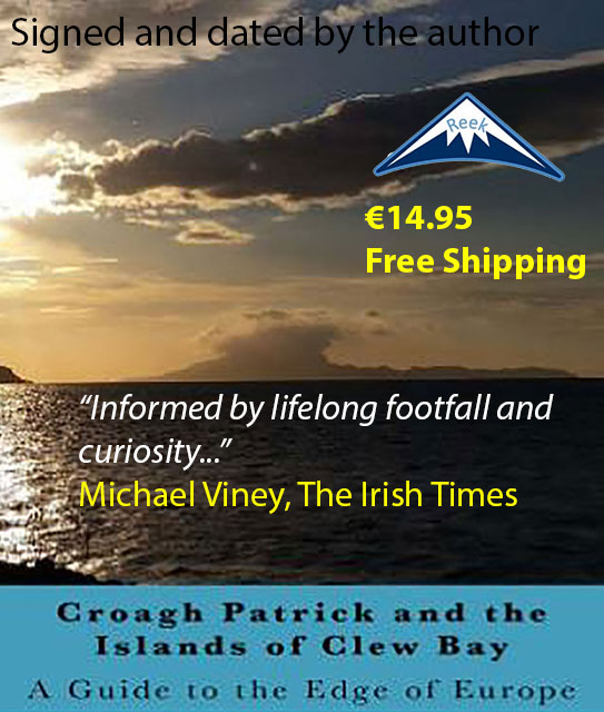 Croagh Patrick & The Islands Book Cover
