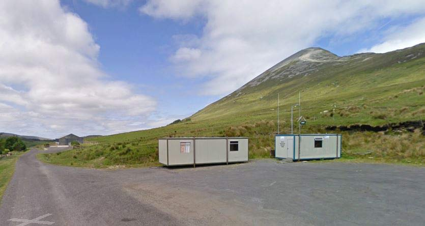 Owenwee Car Park - Home of the Croagh Patrick Rescue Team