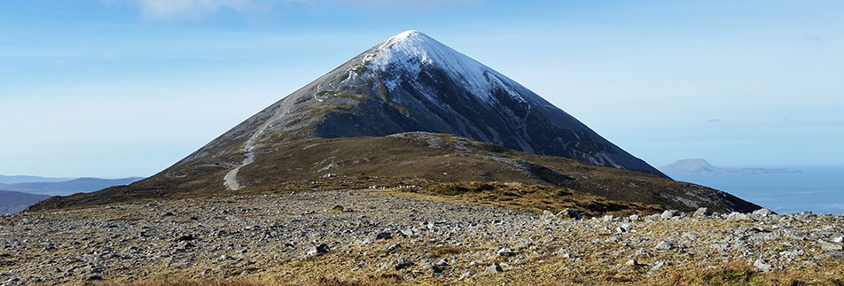 Casan Padraig - the summit cone of the Reek