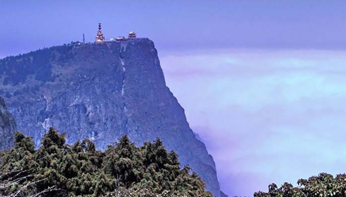 Emei Shan in China