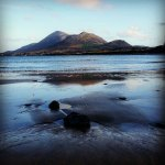 Croagh Patrick on the Wild Atlantic Way in South Mayo Ireland