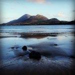 Croagh Patrick on the Wild Atlantic Way in South Mayo Ireland