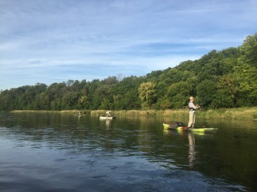 Kayak Fishing, Grand River, Perception Sport Pescador 12, Black Pack, Abu Garcia, Fenwick, Berkley, Waterloo, Ontario, Costa Sunglasses, BAER Fishing Adventures, Jacksoon Coosa Kayaks