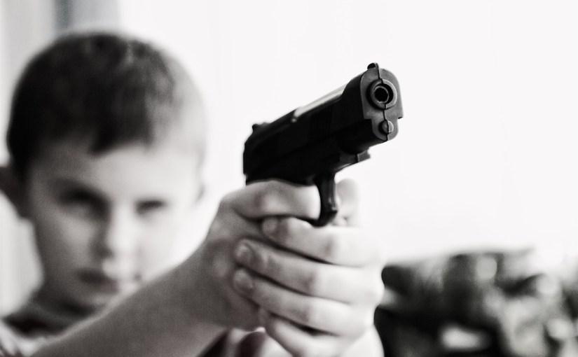 https://pixabay.com/en/weapon-violence-children-child-424772/