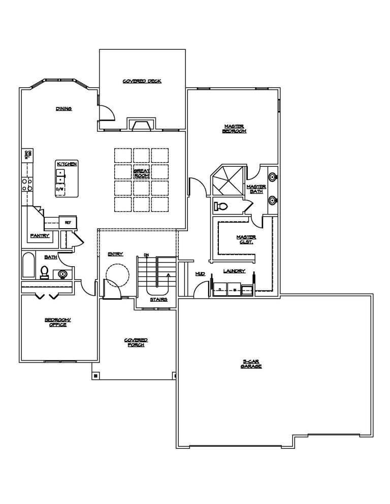 buchman floor plan
