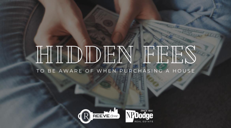 hidden fees when purchasing a home