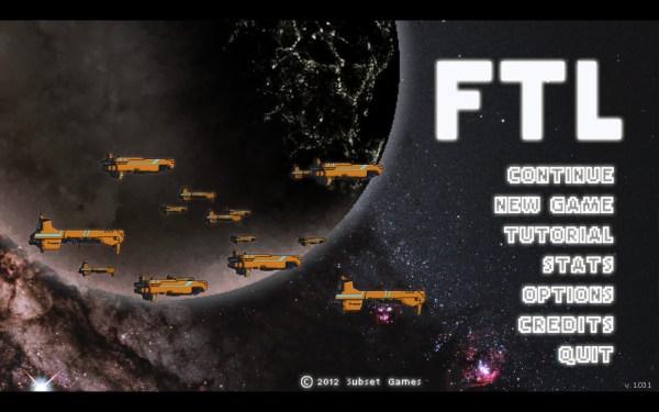 FTL Faster Than Light Screenshot Wallpaper Title Screen