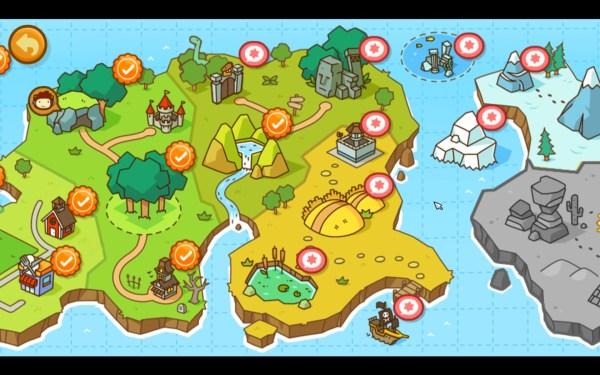 Scribblenauts Unlimited Screenshot Wallpaper Level Selection