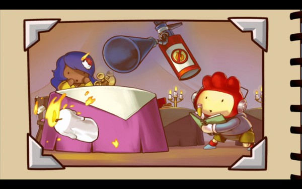 Scribblenauts Unlimited Screenshot Wallpaper Storybook Pages
