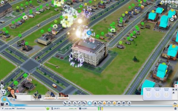 Sim City Screenshot Wallpaper City Hall