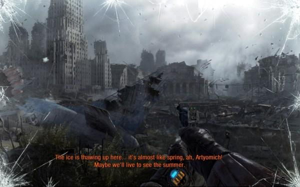Metro Last Light Screenshot Wallpaper Outside