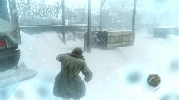 The Last Of Us Screenshot Wallpaper In The Cold Grasp of Winter