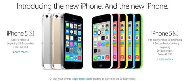 iPhone 5C 5S