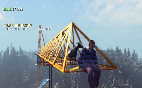Goat Simulator Review Screenshot Wallpaper Time To End It All