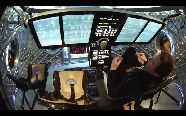 SpaceX Dragon V2 Capsule