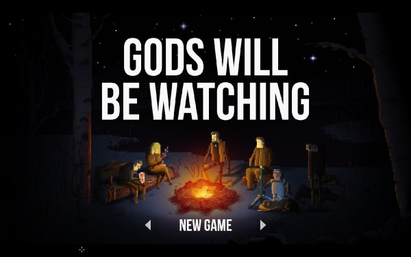 Gods Will Be Watching Review Screenshot Wallpaper Title Screen