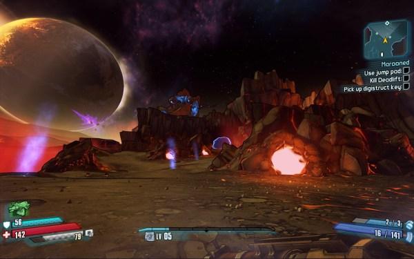 Borderlands The Pre Sequel Review Screenshot Wallpaper Pandroa's Moon