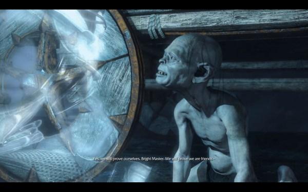 Middle Earth Shadows of Mordor Review Screenshot Wallpaper Gollum