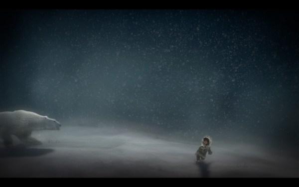 Never Alone Review Screenshot Wallpaper Polar Bear
