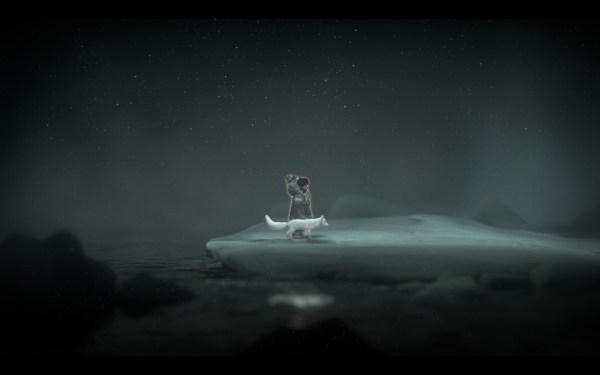 Never Alone Review Screenshot Wallpaper The Girl and the Fox