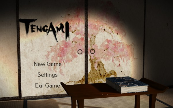 Tengami Review Screenshot Wallpaper Title Screen