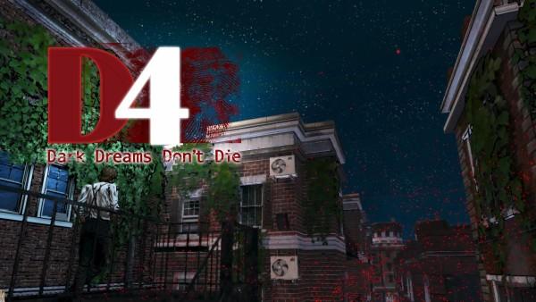 D4 Dark Dreams Don't Die Review Screenshot Wallpaper Title Screen