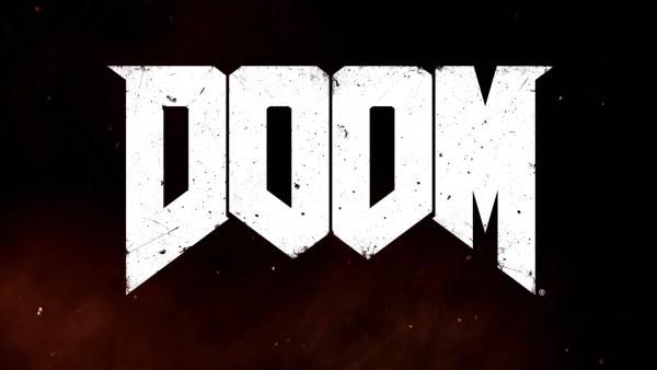Doom Review Screenshot Wallpaper Title Screen