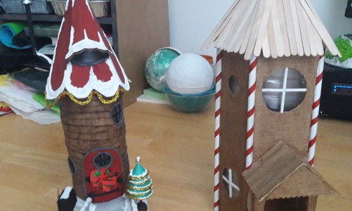 Holiday Elf Houses