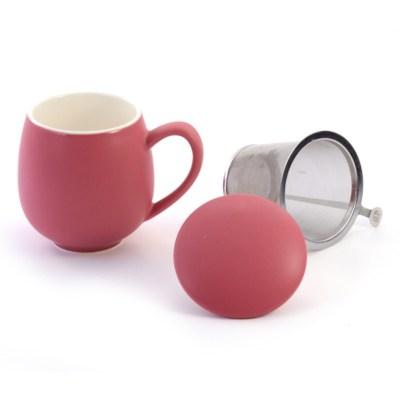 Cană ceai rosu mat Saara DB&Tea