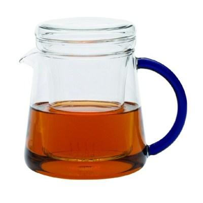 Ceainic Jena cu capac și filtru sticlă 0.4l