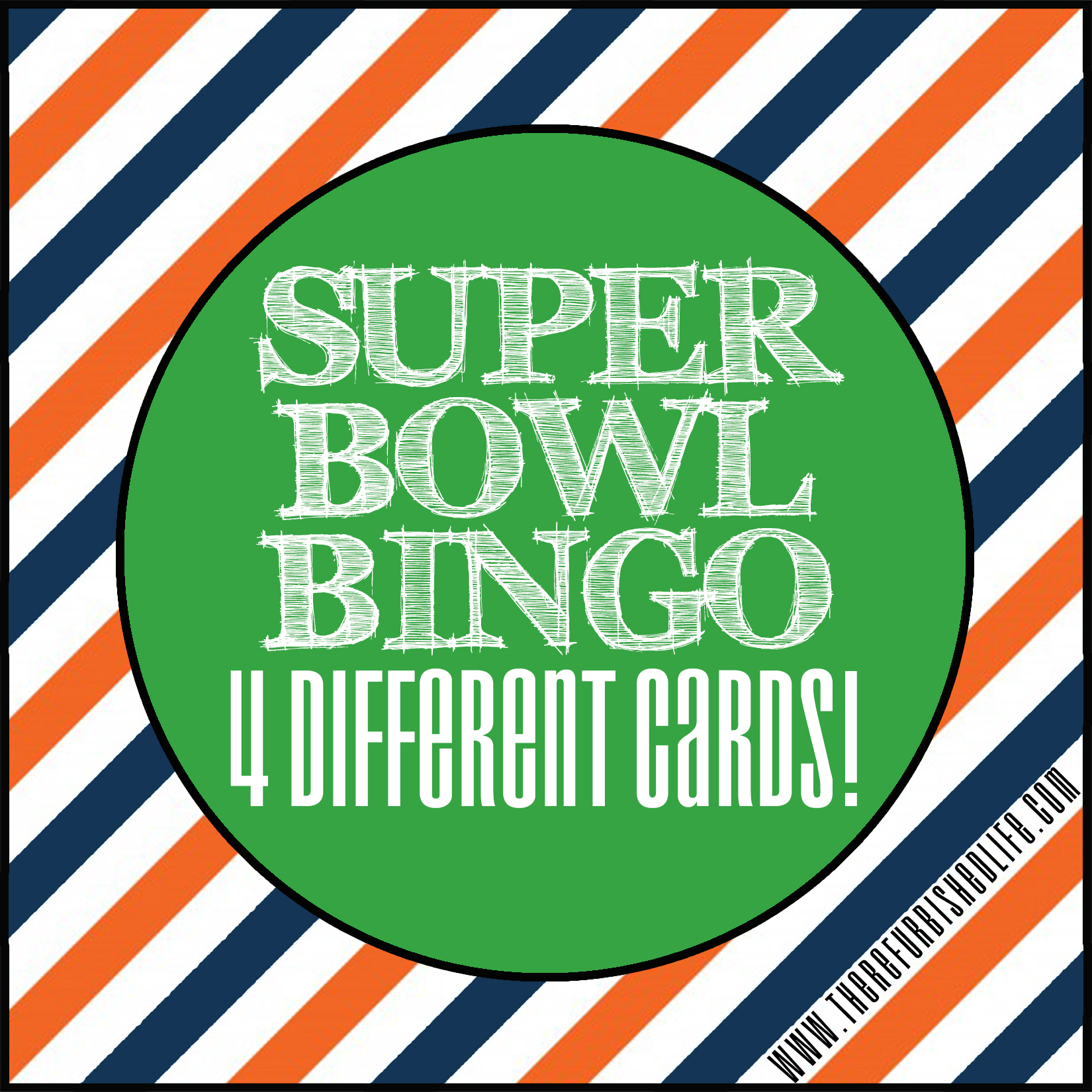 Super Bowl Bingo Free And Printable