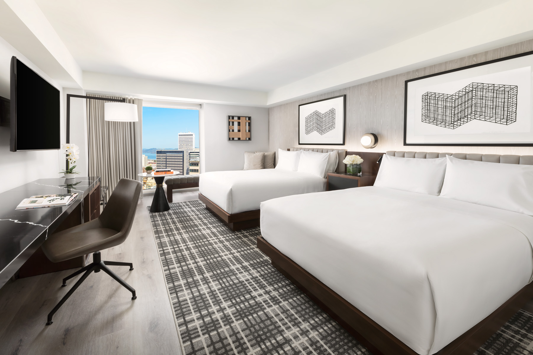 Hyatt Regency San Francisco Downtown SoMa Park Central Hotel BHDM Bay Area Morgan Stanley Highgate