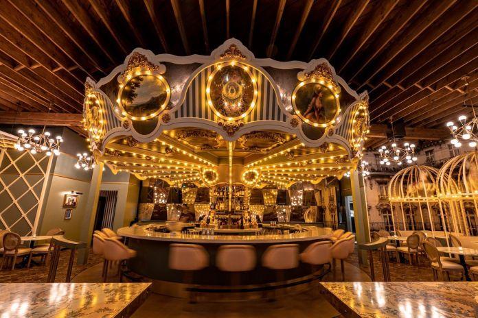 Wolfie's Carousel Bar, Little Italy, San Diego, Davis Ink, Hotel Monteleone, New Orleans, Charles + Dinorah, Pearl Hotel, El Camino, Voyeur, Bang Bang, Airport Lounge