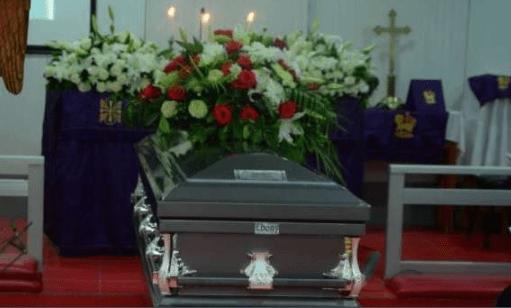 Last respect: Davido, B-Red, celebrities gathered asDJ Olu buried in Lagos