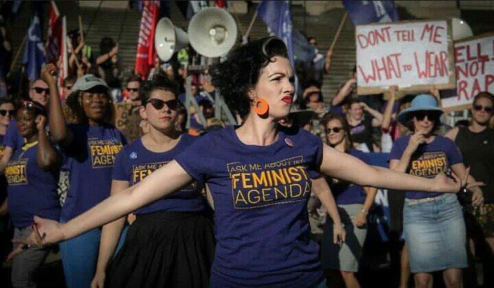 International Women's Day 2018: Thousands march in London to call for gender equality